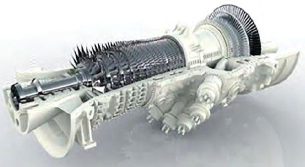 Ansaldo Energia hydrogen gas turbine