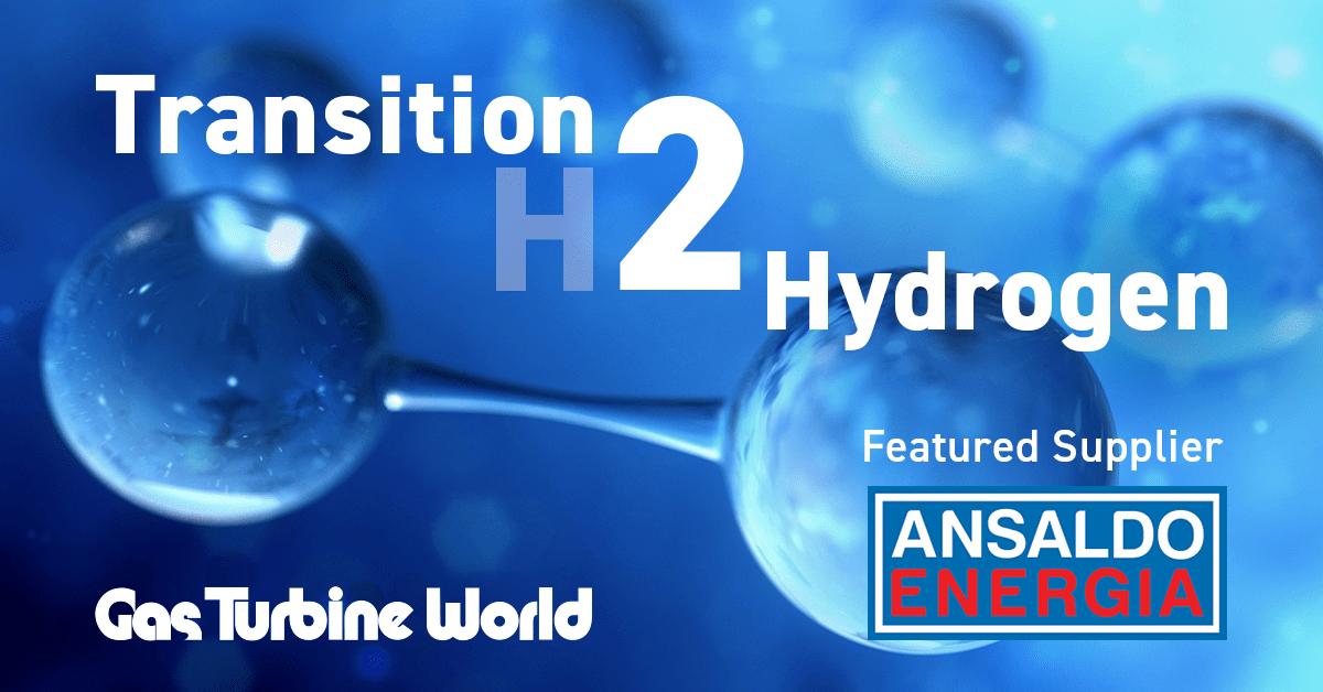 Ansaldo Energia hydrogen gas turbines