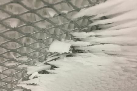 Gas Turbine Filter Ice